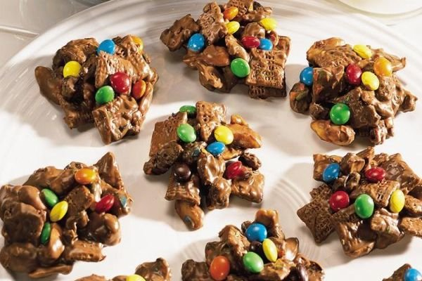 ... treats desserts home party recipes chocolate crispy jar treats